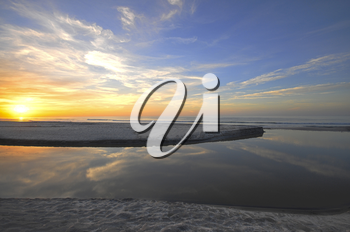 Royalty Free Photo of a Sunrise