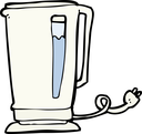 Royalty Free Clipart Image of a Kettle