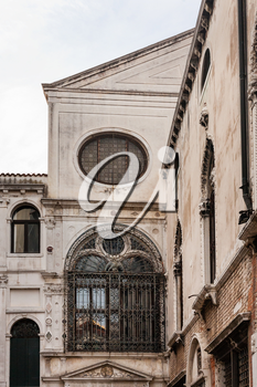 travel to Italy - old palace in Venice town