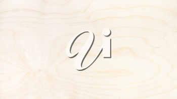 panoramic wooden background - surface of natural birch plywood