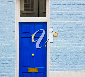 notting hill in london england olod suburban and antique wall door