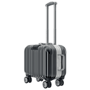 luggage travel black. 3D graphic object isolated on white background