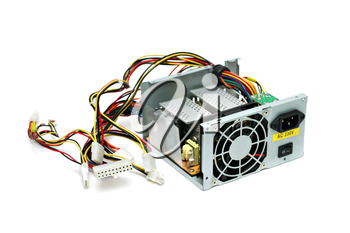 Open computer power supply isolated