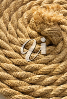 ship rope as background texture