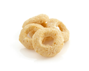 cereal rings isolated on white background