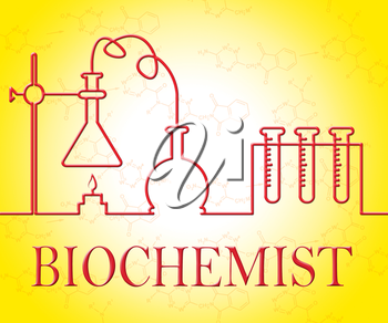 Biochemist Research Showing Investigation Technician And Researching