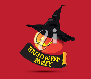 Halloween Party Concept Design and Pumpkin