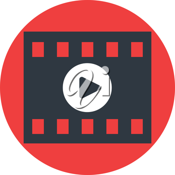 Video Play Icon Design